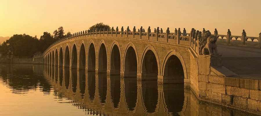 The Seventeen Arch Bridge - Beijing, China